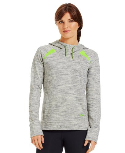 Under Armour Damen Pullover CC Storm Marble Hoody,beige/grün (165), XL (TG/EXG) (Jacke Semi Fitted)
