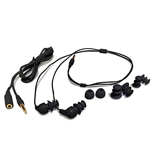 schwarz-swimbuds-kopfhorer-wasserdicht-mit-kurzem-kabel-kopfhorer