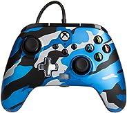 PowerA Enhanced Wired Controller for Xbox - Metallic Blue Camo