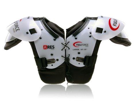 Full Force Ares Youth Speed Position American Football Shoulder Pad QB/WR/Skill, Schwarz, XXL, FF0202042114