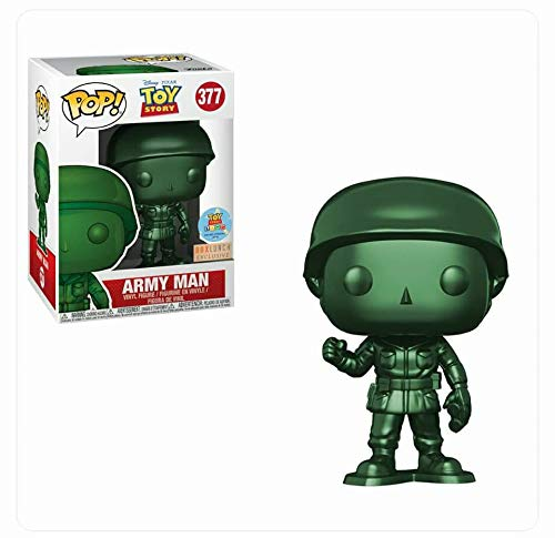 FunKo Pop! Disney # 377 Toy Story Metallic Army Man (Box Lunch Exclusive / Toy Story Land Grand Opening)