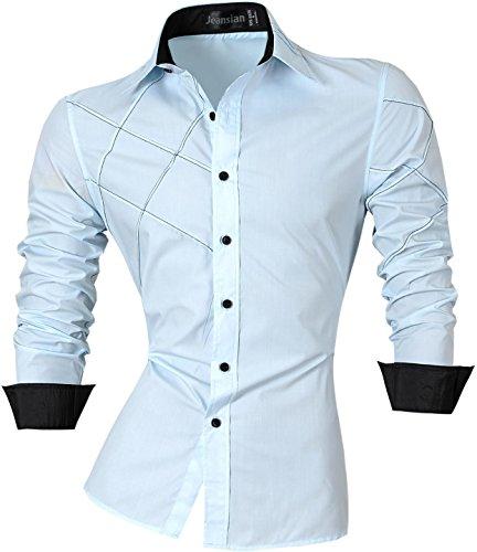 jeansian-homme-chemises-casual-shirt-tops-mode-men-slim-fit-2028-x-large-lightblue