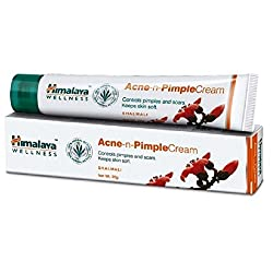 Himalaya Herbals Acne-n-Pimple Cream, 20gm (Pack of 5)