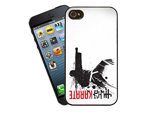 Martial Arts-Karate Telefon Fall Design für iPhone 4/4S-Cover von Eclipse Geschenk Ideen (Karate-iphone Fall)