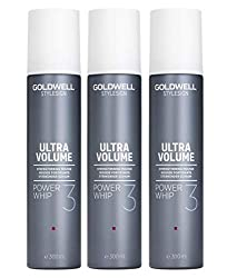 3er Volumen Schaum Goldwell Stylesign Ultra Volume Power Whip 300 ml