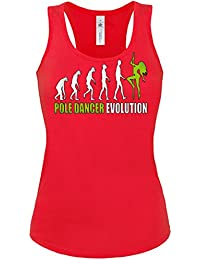 DISCO - PARTY - POLE DANCER EVOLUTION Tank Top Damen S-XL