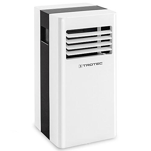 TROTEC Climatiseur local monobloc PAC 2300 X de 2,3 kW / 8.000 Btu pour pièces de 65 m³ max., classe énergétique A avec Trois modes de fonctionnement : rafraîchissement, ventilation, déshumidification