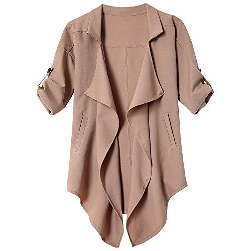 zaful-abrigo-para-mujer-marrn-marrn-claro-small