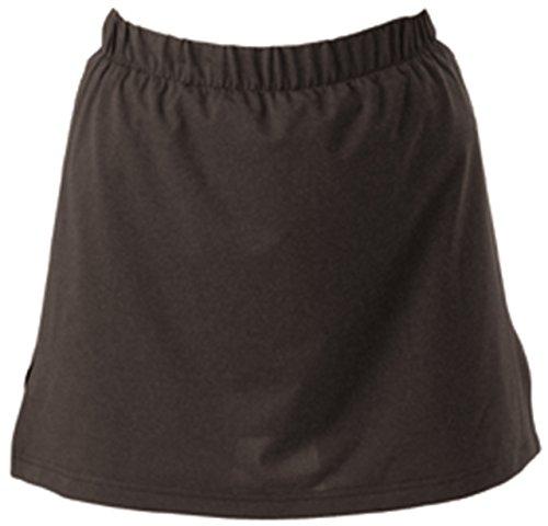 Multi Sport Femme Sport Extérieur Jupe Crop Bas élastique Jupe-short pour femme 61cm -34cm noir