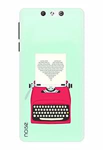 Noise Designer Printed Case / Cover for Lyf Earth 2 / Patterns & Ethnic / Love Typewriter Design