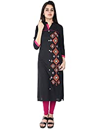 PURE COMFORT Women's Party Wear, Kurti,Long Kurtis For Women And Girls, Cotton Kurtis, Kurtis With Beautiful Embroidery...