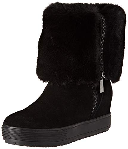 Fornarina sneaker a collo alto donna, nero (meti4 black) 37 eu