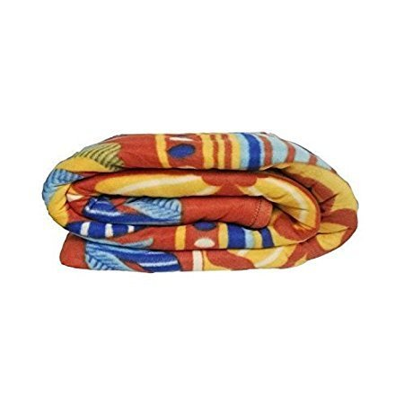 Zacharias Fleece Printed Blanket PACK OF 1  available at amazon for Rs.225