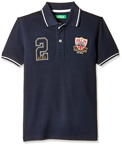 Palm Tree Baby Boy's  T-Shirt (131041689049 1329_Dark Blue_6-12 Months)  available at amazon for Rs.199