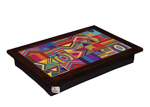 Coloron Dreamz Printed Laptray for Laptops/Writing Table with Cushion Bottom...