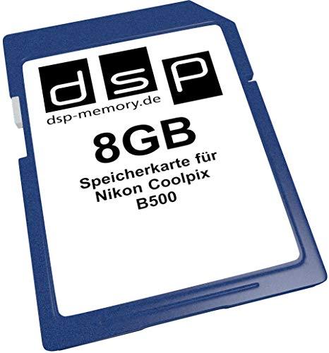 DSP Memory Z-4051557438460 8GB Speicherkarte für Nikon Coolpix B500