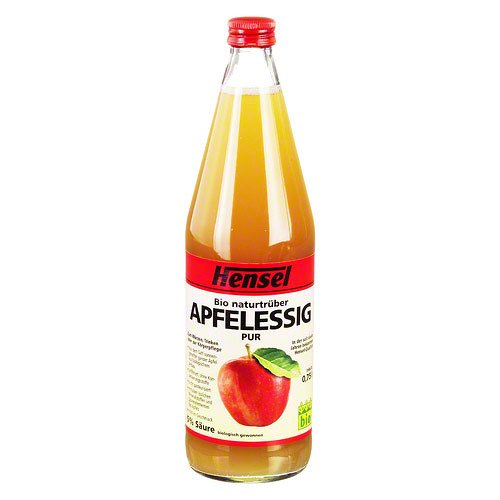 Image of HENSEL Apfelessig naturtrüb Bio 750 ml Flüssigkeit