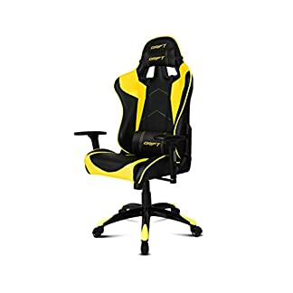 Drift DR300BY – Silla Gaming, Negro/Amarillo