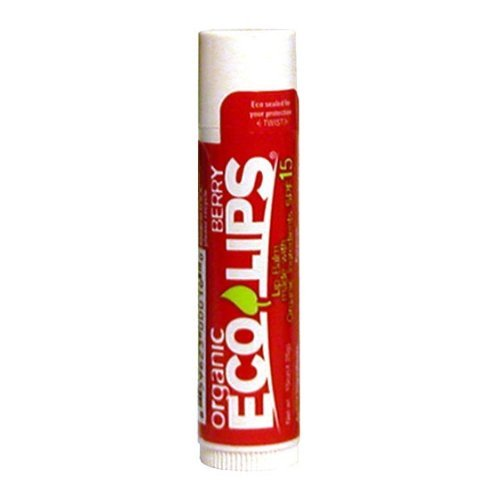 Eco Lips - Lip Balm Berry 15 SPF - 0.15 oz. LUCKY DEAL by Eco Lips