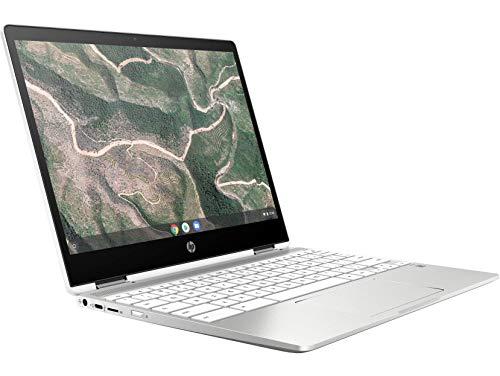 HP Chromebook 12b-ca006TU x360 Thin and Light Touchscreen 12-inch Laptop (4GB/64GB eMMC SSD + 100GB Cloud Storage/Chrome OS/Intel UHD Graphics), Natural Silver Image 4