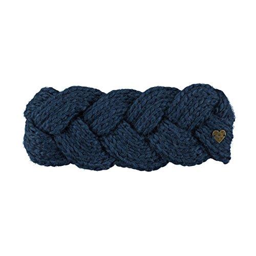 Barts Damen Jackie Stirnband, Blau, One Size -