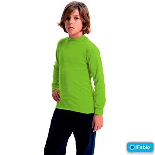 a2445268a6b FABIO - Camiseta Carnaval Infantil niñas Color  Pistacho 581 Talla  2