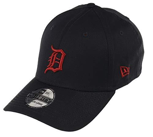 New Era 39Thirty Flexfit Cap - Detroit Tigers schwarz/rot