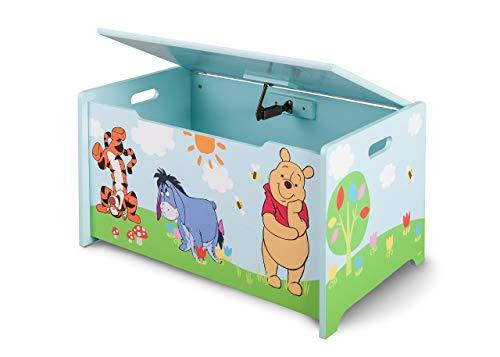 Winnie the Pooh Spielzeugtruhe (Blau)