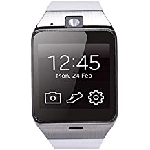 Teléfono Lacaca Aplus GV18 Bluetooth GSM NFC Cámara impermeable del reloj inteligente para el iPhone 4/4s/5/5s/6/ 6s 6 6s además,iPad 3/4/5/6 Plus,Andriod Samsung,HTC,Sony,LG,Huawei,ZTE,OPPO (blanco)