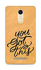 AMEZ you got this Back Cover For Xiaomi Redmi Note 3