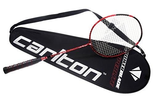 Carlton Badmintonschläger Powerblade Superlite - Red Edition, Schwarz/Rot, One size, 112413