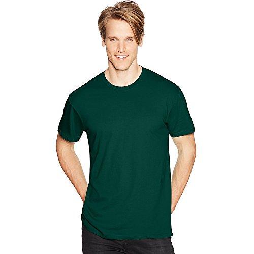 Hanes Mens Nano-T T-Shirt Deep Forest