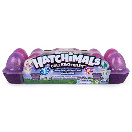 Spin Master Hatchimals Collègtibles Egg Carton 12 Pack - Season 4 Boy / girl - Toy Figures Kits for children (5 year (s), Boy / Girl, China, Swaddling)