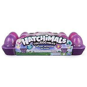 Spin Master Hatchimals CollEGGtibles Egg Carton 12 Pack - Season 4 Niño/niña - Kits de Figuras de Juguete para niños (5 año(s), Niño/niña,, China, Enfajado)