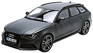 audi rs6 avant matt dkl grau modellauto fertigmodell. Black Bedroom Furniture Sets. Home Design Ideas