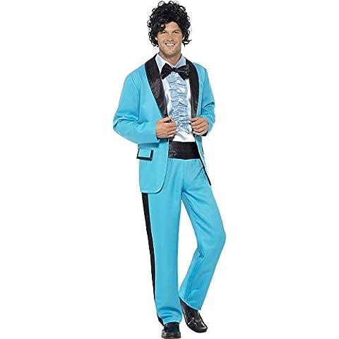 80er Jahre Herren Kostüm Abschlussball Anzug Karneval Fasching Gr.M (80 Anzug Kostüm)