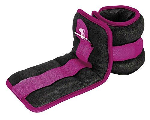 Reehut - Pesos para tobillos y muñecas duraderos (1par) con correa ajustable para practicar ejercicio, caminar, correr, hacer gimnasia, aeróbic, ir al gimnasio (0,9, 1,37, 1,81, 2,72 y 3,63 kg, aprox.), morado