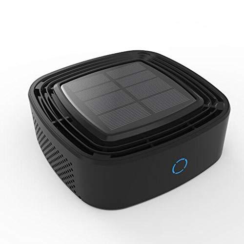 WWKA Depuratore d'Aria Air Bank per la Ricarica di Auto, batteri di formaldeide Odore PM2.5 Deep Smoke Filter Deep Evolution 360 °,Black