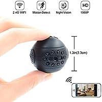 HD 1080P Wifi-Mini-Kamera LXMIMI Super Kleine-Drahtlose-Kamera HD Kindermädchen Cam Heimüberwachung und Überwachungskamera mit Nachtsicht