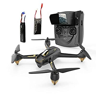Hubsan H501S X4 BRUSHELESS FPV Quadcopter Drone 1080p Camera GPS Automatic Return Altitude Hold Headless Mode Drone (black)