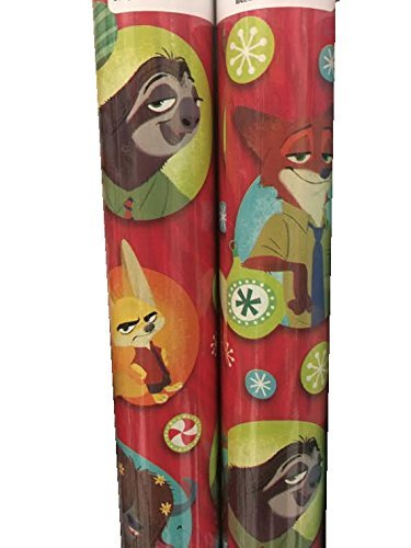 Disneys ZOOTOPIA ~ Gift Wrap Paper ~ 1 Roll by Disney