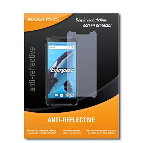 SWIDO Bildschirmschutz für Energizer Hardcase H570S [4 Stück] Anti-Reflex MATT Entspiegelnd, Hoher Härtegrad, Schutz vor Kratzer/Folie, Glasfolie, Schutzfolie, Bildschirmschutzfolie, Panzerglas Folie