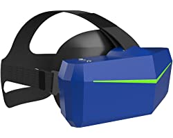 Pimax Artisan VR Headset with Wide 170°FOV, Dual 1700x1440 Resolution Panels, Fast-Switched Gaming Panels for PC VR Beginners