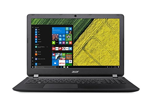 Acer Aspire ES 15 (ES1-523-81GW) 39,6 cm (15,6 Zoll Full-HD matt) Notebook (AMD A8-7410, 8GB RAM, 256GB SSD, AMD Radeon R5, HDMI, USB 3.0, SD Kartenleser, Win 10) schwarz