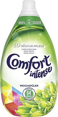 Comfort Intense Weichspüler Tropical Punch 64 Wäschen, 3er Pack (3 x 0,96 l) -