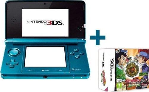 Nintendo 3DS BLEUE LAGON + BEYBLADE METAL MASTER