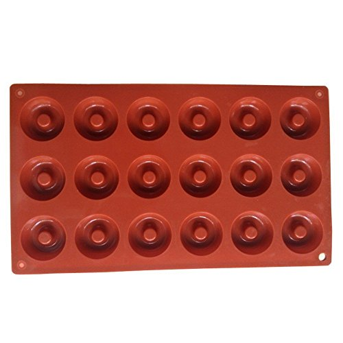 YIJIA-Plastique-Moule--Mini-Donuts-avec-18-Trous-Forme-de-Gteau-Chocolat-Bonbons