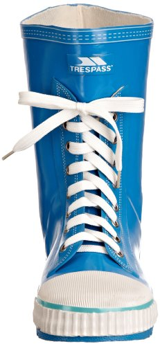 Trespass Splash - Jungen Wellington Stiefel Blau (Blau Cobalt)