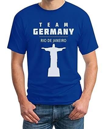 Fanartikel Team Germany Rio Jesus 2016 Olympia Fan Motiv T-Shirt