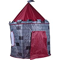 Cheerful Bargains Castle Play Tent for Children Boys Indoor Play House Castle Tent Knights